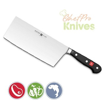 Wusthof Classic Chinese Chef's Knife - 7 in