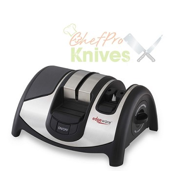 KitchenIQ Diamond Edge Electric Knife and Scissor Sharpener