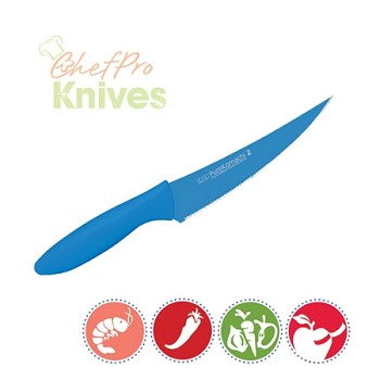 Kai Pure Komachi II Teal Multi Utility Knife - 6 in