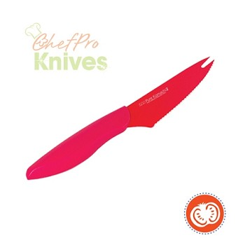 Kai Pure Komachi II Red Tomato Knife - 4 in