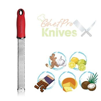 Microplane Premium Classic High Risk Red Zester / Grater