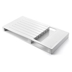Wusthof 7-Slot In-Drawer Knife Storage Tray, White Plastic