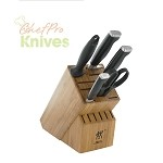 Zwilling JA Henckels Twin Four Star II Block Set, 6 Pc.