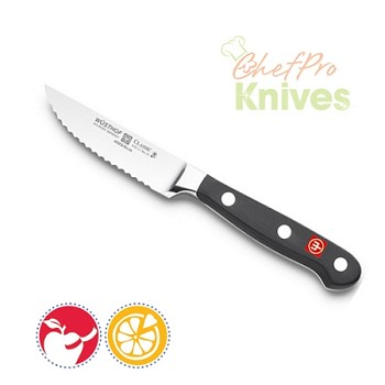 Wusthof Classic Serrated Paring Knife, 3""