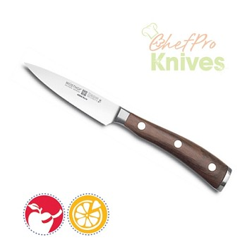 Wusthof Ikon Blackwood Paring Knife - 3.5 in.