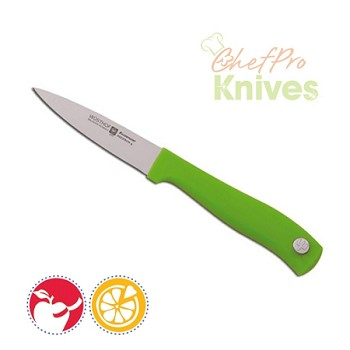Wusthof Silverpoint II Green Spear Point Paring Knife - 3""