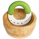 Chef 'n Herb'n Shear Set Herb Chopper with Bamboo Bowl