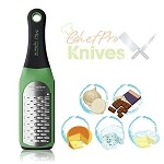 Microplane Artisan Ribbon Grater, Green