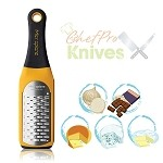 Microplane Artisan Ribbon Grater, Yellow